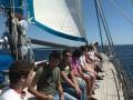 Sailing to Oinousses